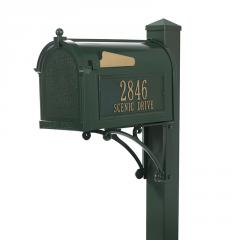 Superior Mailbox Package - Hunter Green