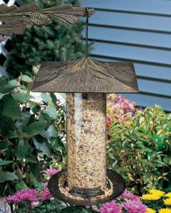 Pinecone 12 Inch Tube Bird Feeder