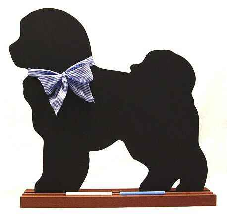 Bichon Frise Dog Breed Chalkboard
