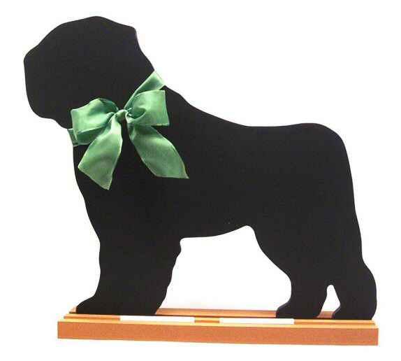 Bouvier des Flandres Dog Breed Chalkboard