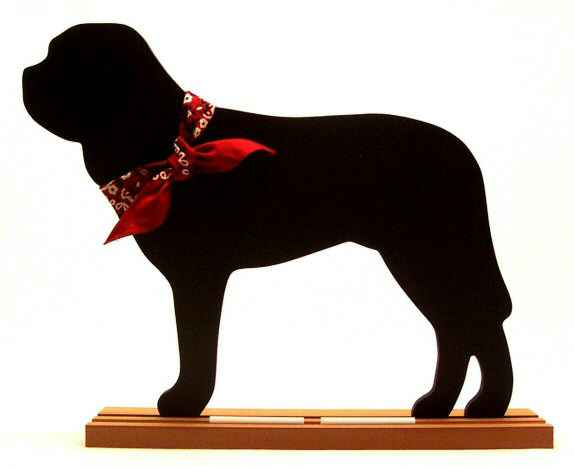 Bullmastiff Dog Breed Chalkboard
