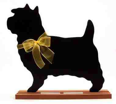 Cairn Terrier Dog Breed Chalkboard
