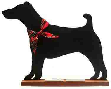 Smooth Fox Terrier Dog Breed Chalkboard
