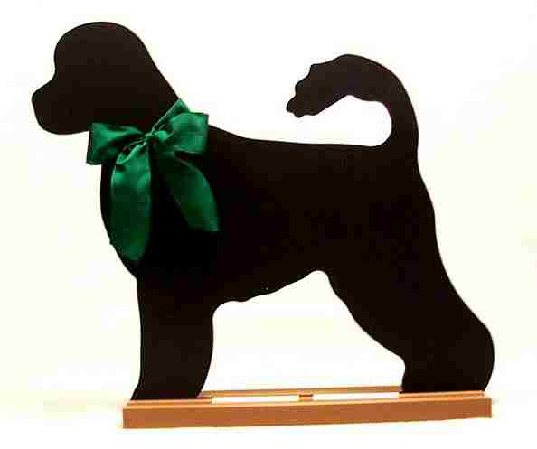 Portugese Water Dog Dog Breed Chalkboard