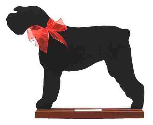 Giant Schnauzer Dog Breed Chalkboard