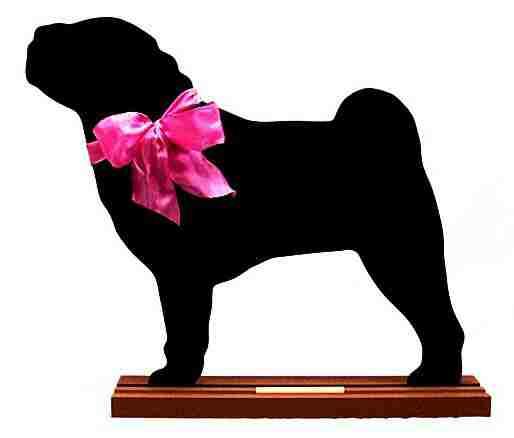 Shar Pei Dog Breed Chalkboard