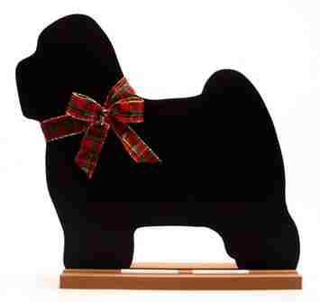Tibetan Terrier Dog Breed Chalkboard