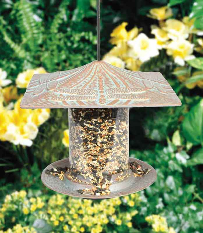 Tube Style Bird Feeders - 6 Inch and 12 Inch sizes and 4 different designs.