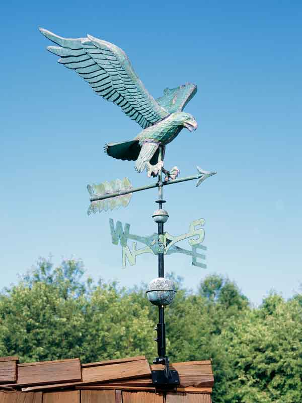 Classic Directions Weathervane shown in Eagle Design