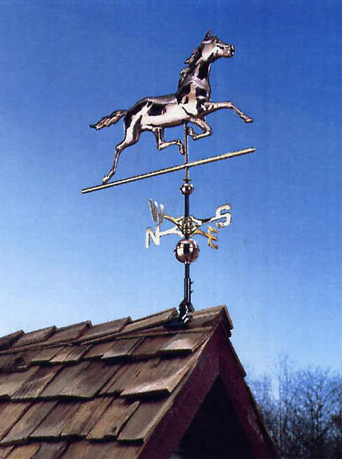 Equestrian Collection Weathervanes for the Horse Lover!