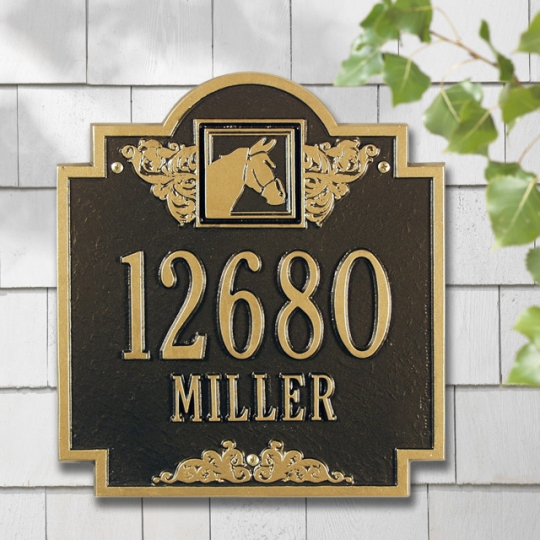 House Signs, Address Signs and Stall Markers for the Horse Lover!
