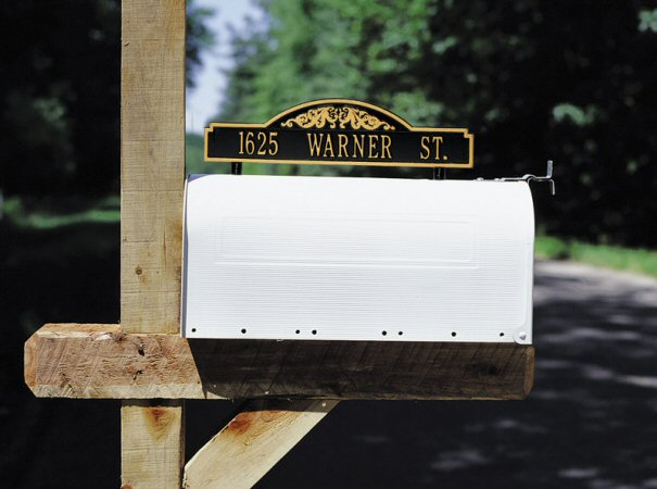 Mailbox Address Plaques